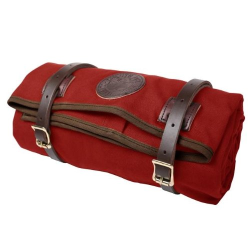 Canvas Bed Roll Cowboy Roll Camping Bedroll (Red)   Emergency Packin'